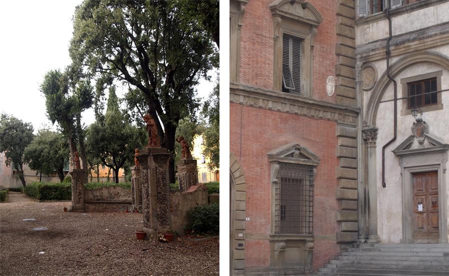 Jardin et pierres Florentines