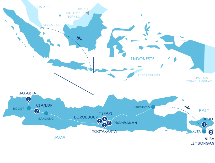 MAP-INDONESIE